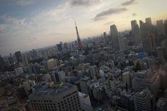 Tokyo Tower, Tokyo (Tachū Naitō).