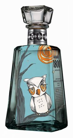 1800 Tequila Essential Artists #packaging  #design #packaging