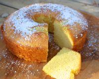 Bolo de Fuba - Brazilian Cornmeal Cake