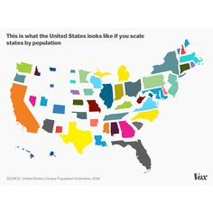 1. US States Size Distorted by Population 2. US States Size 3. US States Size Distorted by Population Density -Source: US Census Bureau.  -Follow me: Instagram: @fanmaps Twitter: @fan_maps -Like what I share? Support my work buy me a coffee: ko-fi.com/fanmaps (clickable link in my bio)  #map #world #country #population #cartography #geography #earth #globe #people #planet #history #economy #usa #america #newyork #california #alaska #texas #florida #newjersey #michigan #density #area #ohio…