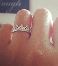 Crown ring, I'm going to get one for Jo when she turns 16. She will always be my princess!!