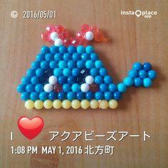 Aqua Beads Art クジラWhale