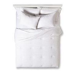 Room Essentials™ Textured Solid Comforter Set Target $39.99