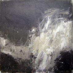 """Josef Winkler,/ """"without title"""", Painting, acrylic on woodboard, 2008, 103 x 103 cm"""