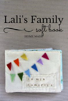 La sciarpa che canta: Come cucire un soft book fotografico