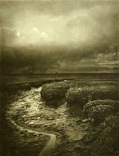 Approaching Weather, 1901 - by Alfred Horsley Hinton - UK Artistic Photography, Vintage Photography, Creative Photography, White Photography, Portrait Photography, Inspiring Photography, Old Pictures, Pretty Pictures, Old Photos