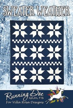 Villa Rosa, Snowflake Quilt, Two Color Quilts, Teal Fabric, Christmas Fabric, Christmas Patterns, Christmas Sewing, Handmade Christmas, How To Finish A Quilt