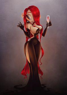 Vampire Lady - Sweeney Boo - 2014