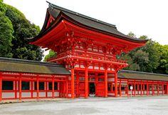 Shinogamo shrine/ oldest shrine in Kyoto/ The official name is kamomioya shrine