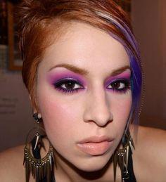 Beautiful young lady, amazing makeup job. :) Sugar Pill Cosmetics.