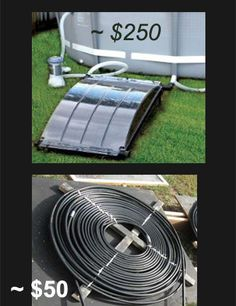 Picture of Pool Solar Heater or Optical Illusion for Entertainment