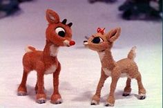 "classic Rudolph says ""I'm cute she said I'm cute""! That's one of my favorite parts of the show!  There's always tomorrow for dreams to come true, tomorrow is not far away!"