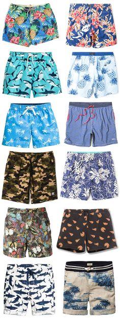 Saiba mais sobre os shorts estampados masculinos, que surgem como uma tendência divertida para o verão!