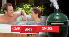 Join us this December for our annual Soak n Smoke event where you'll receive a FREE Big Green Egg with a HotSpring Spa purchase! Above Ground Swimming Pools, Above Ground Pool, In Ground Pools, Spring Spa, Soccer Equipment, Pool Builders, Green Eggs, Hot Springs