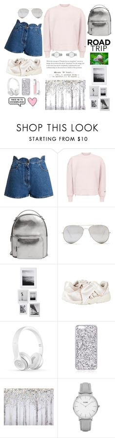 """""""Road Trip 🗿"""" by bartivana ❤ liked on Polyvore featuring Valentino, adidas, MANGO, Sunny Rebel, DENY Designs, Puma, Yosemite Home Décor and Topshop"""