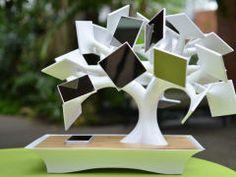 The Electree+, A Solar-Powered, Induction Charging Bonsai Tree Hits Kickstarter - TechCrunch