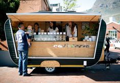 tour of Cape Town, World Design Capital 2014 A coffee stall at Neighbourgoods Market in South AfricaA coffee stall at Neighbourgoods Market in South Africa Food Trucks, Kombi Food Truck, My Coffee Shop, Coffee Shop Design, Coffee Shops, Coffee Market, Coffee Club, Coffee Coffee, Mobile Cafe