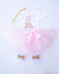 Twinkle Twinkle Little Star First Birthday Outfit Girls