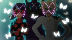 Day 3&6: Akuma and Hawk Moth   Evil!Heroes
