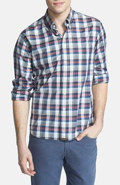 315a525ca2f Billy Reid  Tuscumbia  Check Shirt available at  Nordstrom Billy Reid