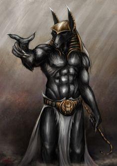 5 Anubis Art