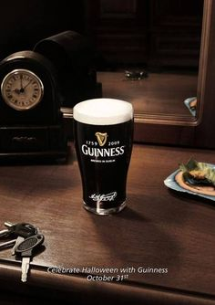 CELEBRATE HALLOWEEN WITH GUINNESS, OCTOBER 31st