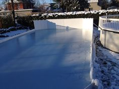 November 20th, 2014, Winchester Invitational Backyard Ice Hockey Rink.
