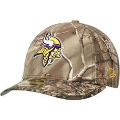 Minnesota Vikings New Era Low Profile 59FIFTY Hat - Realtree Camo