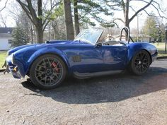 Factory Five Mark IV Roadster Cobra Kit Car custom restoration car with pro-touring and resto-mod features in Indianapolis: