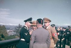 Hitler's visit with Mussolini - Google Search