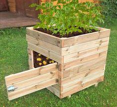Garden Box Plans, Planter Box Plans, Garden Boxes, Raised Planter Boxes, Diy Planter Box, Garden Design Plans, Pallet Garden Box, Planter Ideas, Diy Garden Box