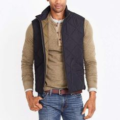 9cbd6df7 12 Best Men's Fashion Quilted Vest images | Man fashion, Men's ...
