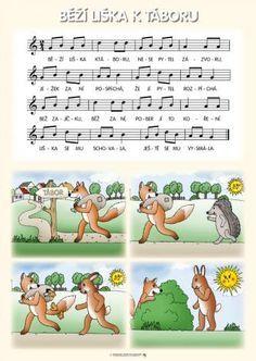 písničky v obrázcích - Hledat Googlem Vive Le Vent, Partition, Ukulele, Piano, Preschool, Language, Exercise, Teaching, Songs