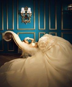 Sleeping bride.