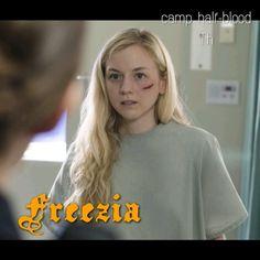 Freezia Crawford, daughter of Hepheastus.