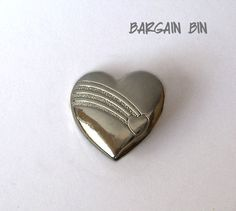 The Variety Club © Heart Pin Brooch  Bargain by MargsMostlyVintage