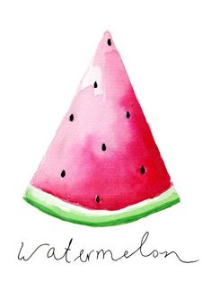 Illustrations // Fruit- Illustrationen // Obst Do you know something better so full and ripe summer fruits? That& why I made some illustrations of my favorite fruit. Watercolor Fruit, Watercolor Cards, Watercolor Paintings, Simple Watercolor, Paar Illustration, Fruit Illustration, Art Adulte, Photo Polaroid, Art Abstrait