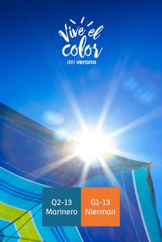 El verano en la playa: coloridas y llamativas sombrillas.  #ViveElColorDelVerano #Summer #Colorful #Comex