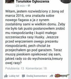 Hahaha Hahaha, Polish Memes, Funny Stories, Wtf Funny, Funny Images, Humor, Sayings, Lol Pics, Humour