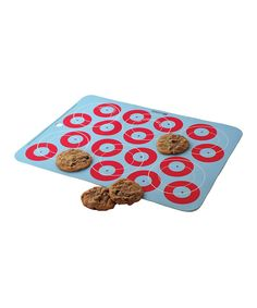 Love this Light Blue Cookies Ultimate Baking Mat by Baker's 13 on #zulily! #zulilyfinds