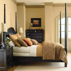 Black bedroom furniture set - mom check this out.