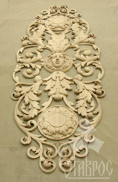 Decorative carving