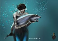 Maui Dolphin by memuco , via Behance