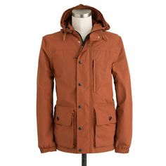 Lightweight hooded Heathfield jacket - great color