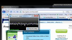 YouTube Converter and Downloader - Freecorder 4.  (Try the latest versio...