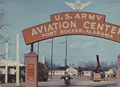 """""""U.S. Army Aviation Center Fort Rucker, Alabama."""" :: Alabama Photographs and Pictures Collection"""