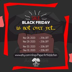 💣BLACK FRIDAY is not over yet! PDF templates of your favorite Papercraft models now at a discount!🔥 ⠀ Enjoy a Black Friday sale until December 1st!😜 But be quick, discounts are reduced! ⠀ 📆 Sales Duration 📆 Nov 28, 2020 -25% Nov 29, 2020 -25% Nov 30, 2020 -20% Dec 01, 2020 -20% 🔊Don't forget to Tell your friends too! Share with others!!! ⠀ 📌Models available on Etsy #paperartaddiction #papermodel #papercraft #3d #lowpoly #blackfriday #etsy #gifts #sale #cardboard #digital December 1st, Art Addiction, Pdf Patterns, Paper Models, Low Poly, Cool Kids, Black Friday, 3 D, Have Fun