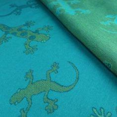 Didymos Tragetuch Geckos smaragd 470cm