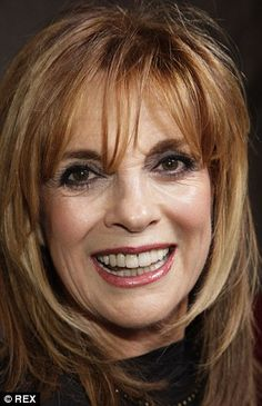 Aged 71, Linda with very firm jawline in 2011 (left). She is concealing her neck and decolletage, which will look more aged than her face, and is preparing for a career comeback with the return of Dallas. Plastic surgeon Dr Sherrell J. Aston said at the time: 'Linda Gray is a great example of a woman in Hollywood who is ageing with perfection. She is neither too taut nor too wrinkled.'