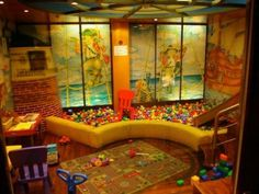 Basement Ideas For Kids indoor slide for the playroom entrance | basement playroom